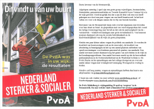 Digitale flyer Stromenwijk